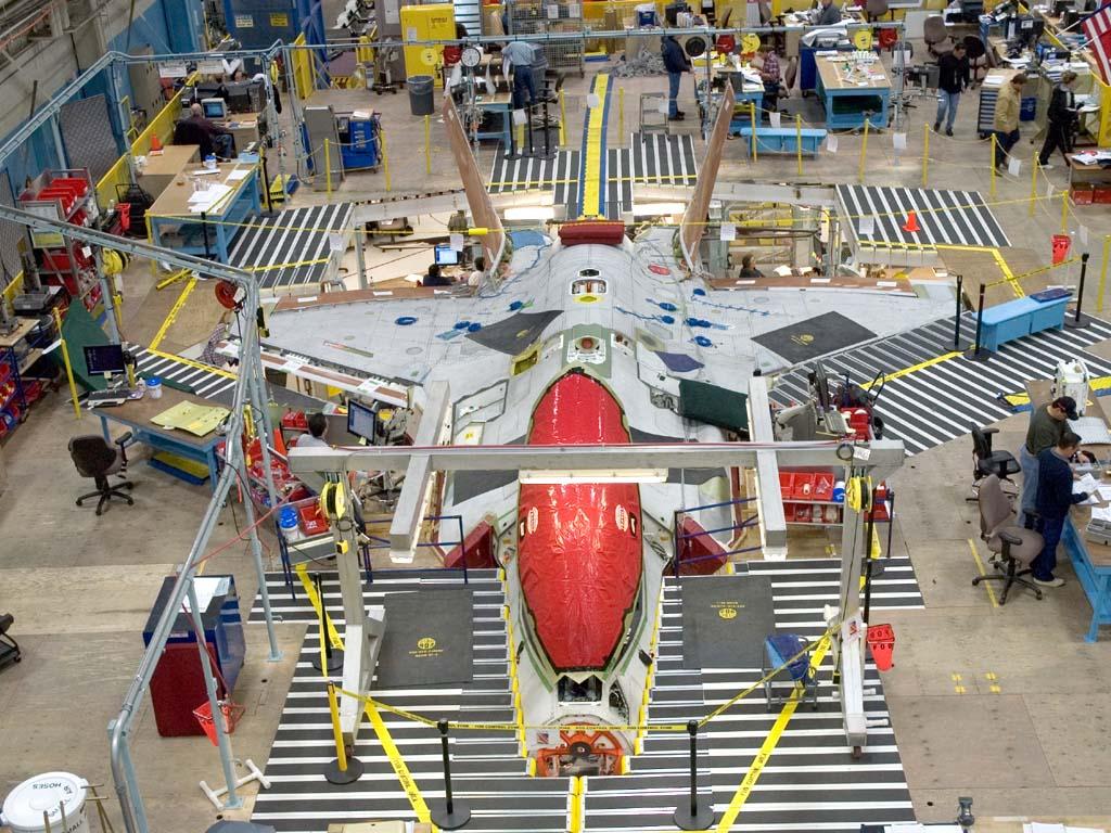 JSF-35 Lightning II Plane-f-35-fab-desk-1024