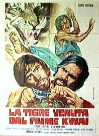 La tigre de la rivière Kwai ( La tigre venuta dal fiume Kwai ) - 1975 - Franco Lattanzi La_tigre_venuta_dal_fiume_Kwai