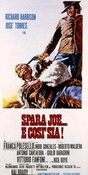 Tire Joe et amen (Spara Joe... e così sia!-Joe Dakota, 1971) Hal Brady (Emilio Miraglia) Spara_joe