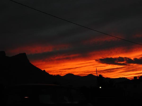 Zalazak sunca-Nebo Sonnenuntergang