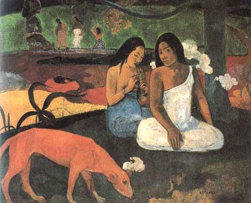 Gioconda Belli y Gauguin Gauguin_arearea
