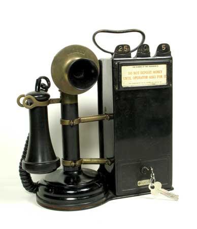 Hand Phone Mutakhir abad ini Candlestick-pay-telephone