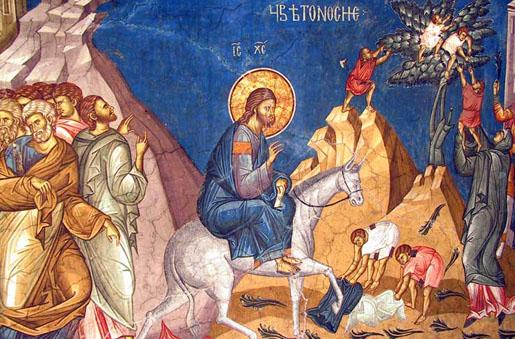 Ulazak Gospoda Isusa Hrista u Jerusalim – Cveti Cveti