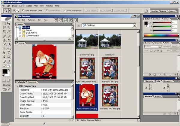 برنامج Adobe Photoshop 8 CS Psfilebrowser0402