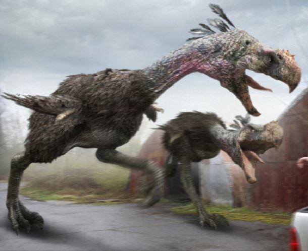 20 espèces animales exceptionnelles et terrifiantes qui sont éteintes aujourd'hui. Creatures-effrayantes-%C3%A9teintes-1