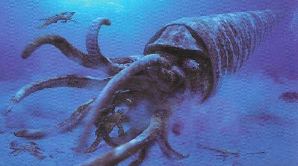 20 espèces animales exceptionnelles et terrifiantes qui sont éteintes aujourd'hui. Creatures-effrayantes-%C3%A9teintes-4