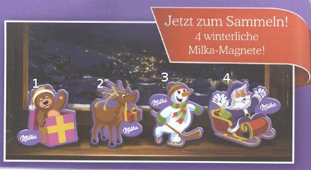 Milka /Milkinis/ Milky Way Milkamagneti
