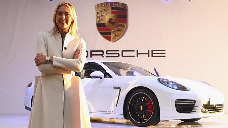 Maria Masha Sharapova - Page 2 Porsche
