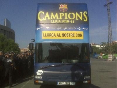 صور اضافية احتفال لاعبي برشلونة باللقب روعة  1305305457961