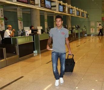 صور توجه اللاعبين نحو مدريد 1312791220862