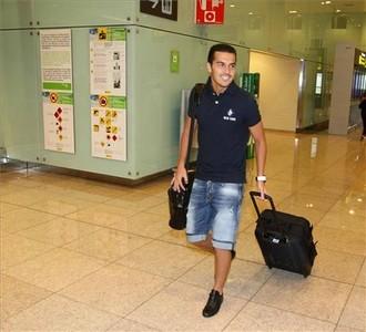 صور توجه اللاعبين نحو مدريد 1312791281635