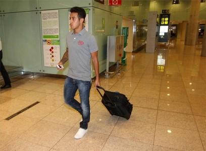 صور توجه اللاعبين نحو مدريد 1312791281885