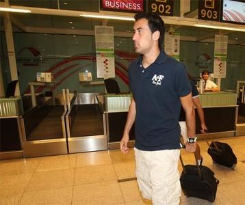 صور توجه اللاعبين نحو مدريد 1312791341376