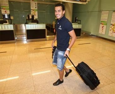 صور توجه اللاعبين نحو مدريد 1312791281669