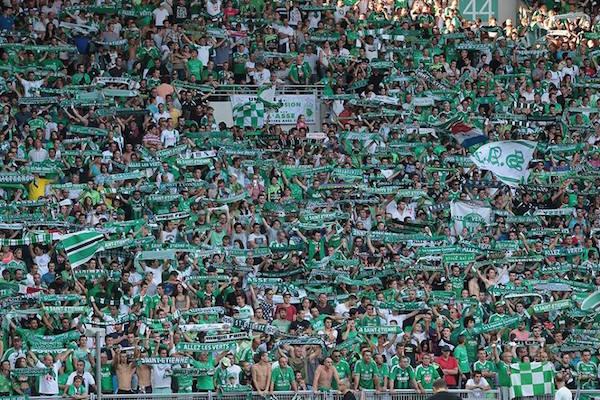 30e journée : ASSE - Nîmes ASSE-supporters-fans