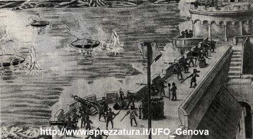 (1608)  L'Ovni de Gennes  UFO_Genova_Nizza