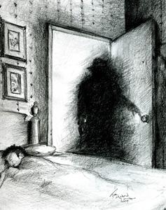 Une mystérieuse ombre noire apparait dans un magasin Shadow_people