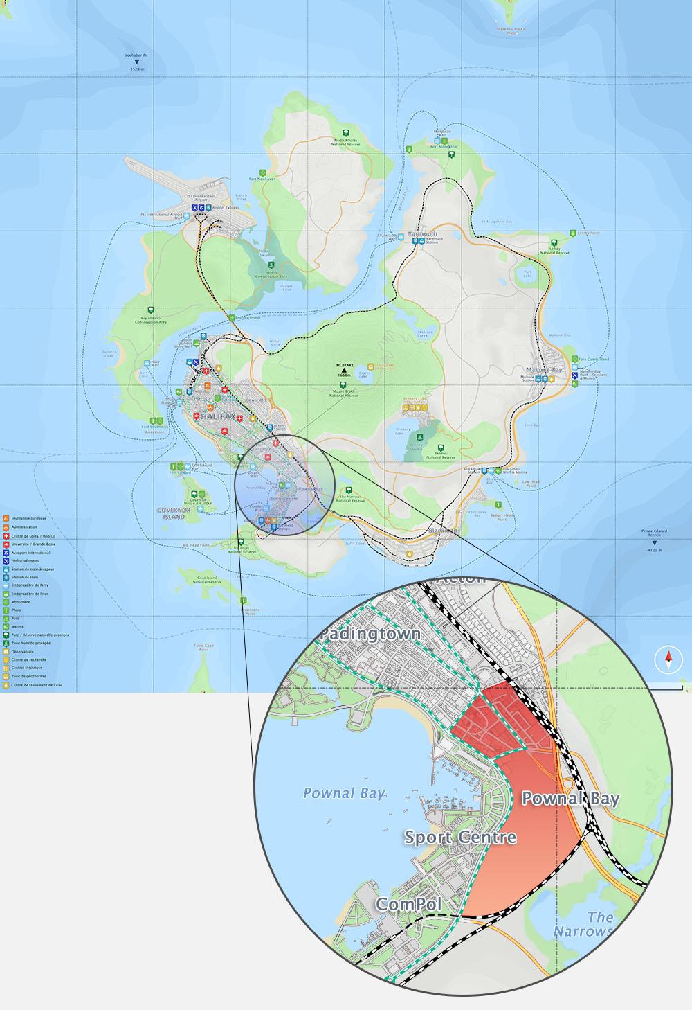 Whale Island - Pownal Bay - South Bay Avenue - Page 32 PownalBay-Carte