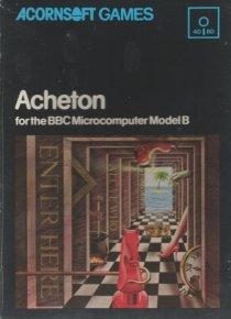 Judge a game by its cover Acornsoft-Acheton-disk