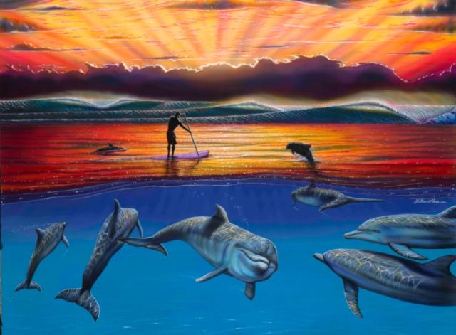 Bienvenidos al nuevo foro de apoyo a Noe #225 / 16.02.15 ~ 19.02.15 - Página 38 Good-morning-waterman-art-by-hilton-alves