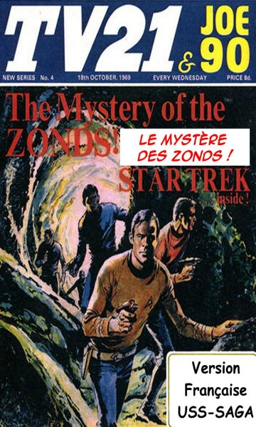 Le mystère des Zonds (TV21 & Joe 90 01-06 - The mystery of the Zonds) 273