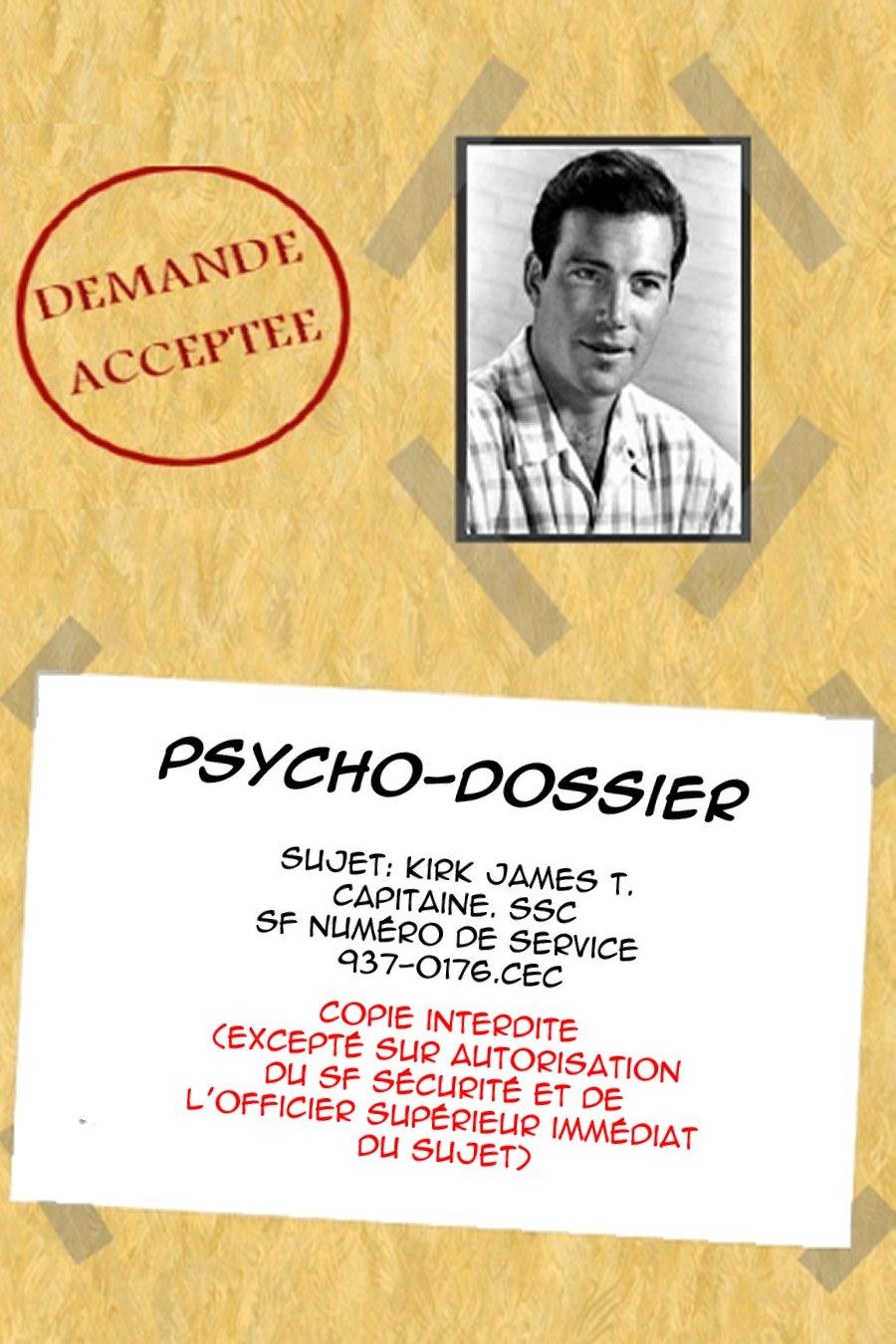 Psycho-dossier (Gold key) 10