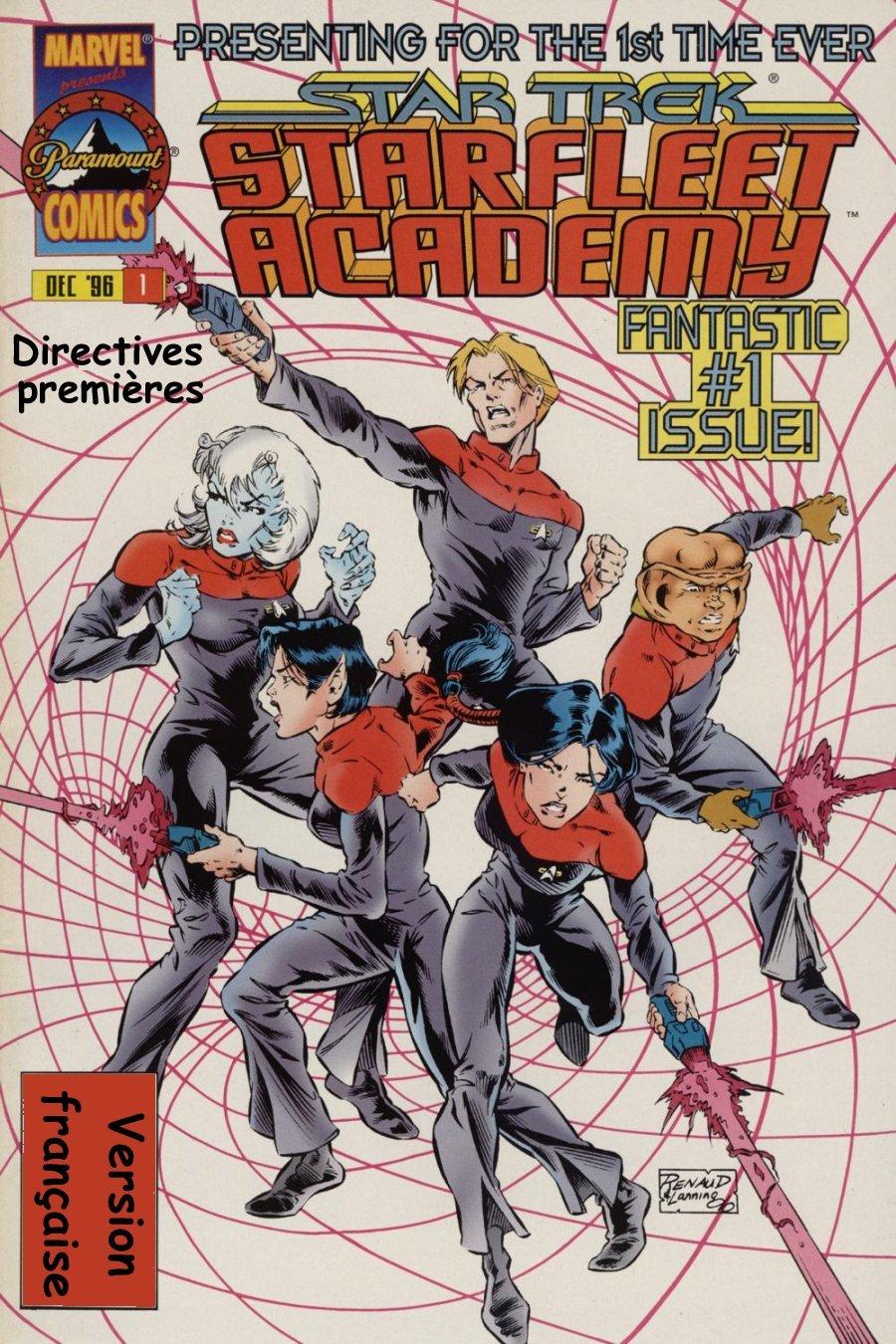 Starfleet Academy #1, 2 & 3: Prime directive [1996;post-DS9] 101