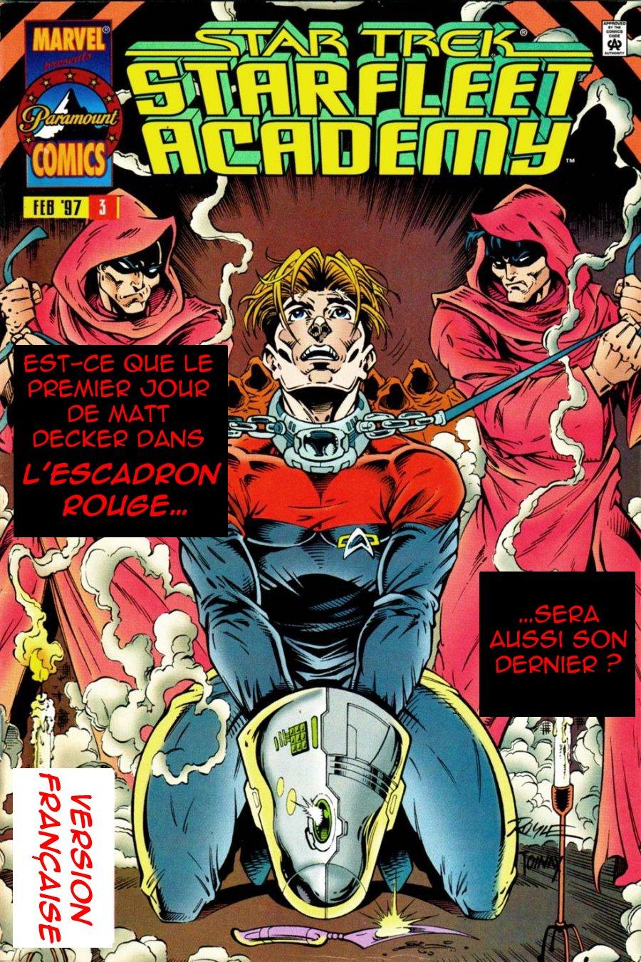 Starfleet Academy #1, 2 & 3: Prime directive [1996;post-DS9] 301