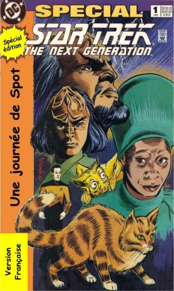 Une journée de Spot [DC Comics Special 1 - TNG - 1993] 009