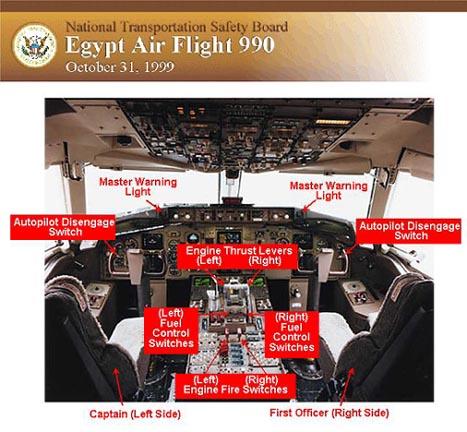 إسقاط الطائرة المصرية سنة 1999م Boeing767_Cockpit_NTSB