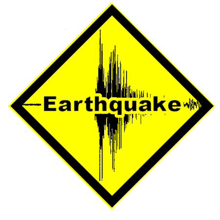 7.5 New Caledonia Quake 12.05.2018 EARTHQUAKE_CAUTION_SIGN