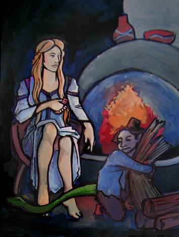 Mitovi,  legende, narodno predanje - Page 2 KucniDuhmala