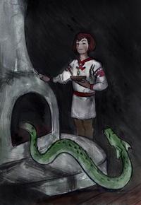 Mitovi,  legende, narodno predanje - Page 2 Zmija_cuvarkucaMala