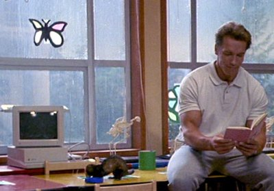 Mainstream Movies with Mind Control Subplots Kindergarten_cop_apple_iigs_1