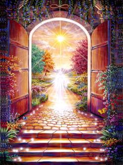 La Terre est surmontée de plusieurs royaumes de paix et d'amour Les