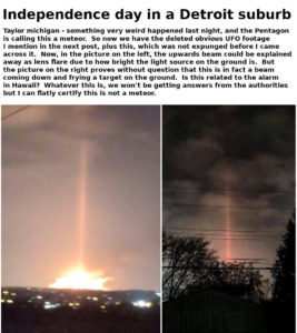 Did Beaver Aerospace and Defense in Michigan have anything to do with the Fireball, Light Beam & Explosion? Obviousspacewar-267x300