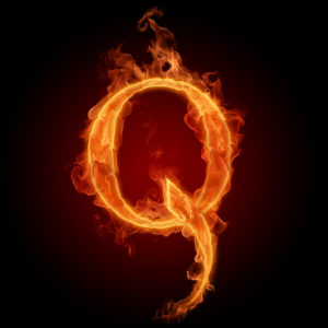 QAnon Gets Exposed Once and For All | Lt. Col Potter  Q-flames-300x300