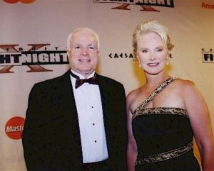 McCain, Ted Kennedy die same date, 9 years apart, from same cancer—Really? Cindyhensleymccain-300x241