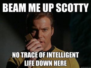 Extraterrestrial/UFO Disclosure: Is This How It Will Happen? Meme-beam-me-up-scotty-300x227