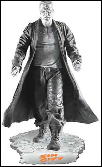 BATMAN BLACK & WHITE VILLAINS #05 : JOKER / LEE BERMEJO Sin_City_Marv-statue-L