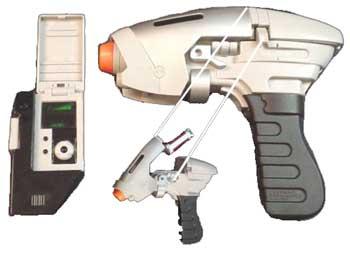 tricorder et phaser Phaser
