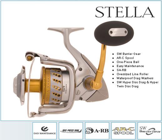 Escrito La Pesca del Tiburón con Carnadas por José Manuel López Pinto / Actualizado al 20 de Octubre del 2011 Shimano_stella_sw