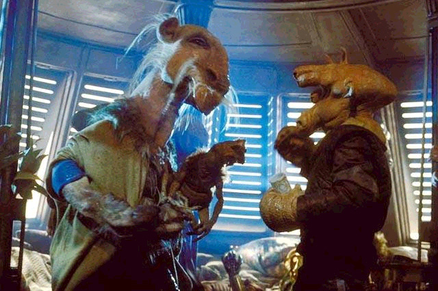 Original Trilogy Cut Scenes : Empire Strikes Back Saelt-Marae_Ree-Yees_fight