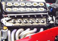 Moteurs Ferrari de F1 (1950 à 2014) FerrariTipo037