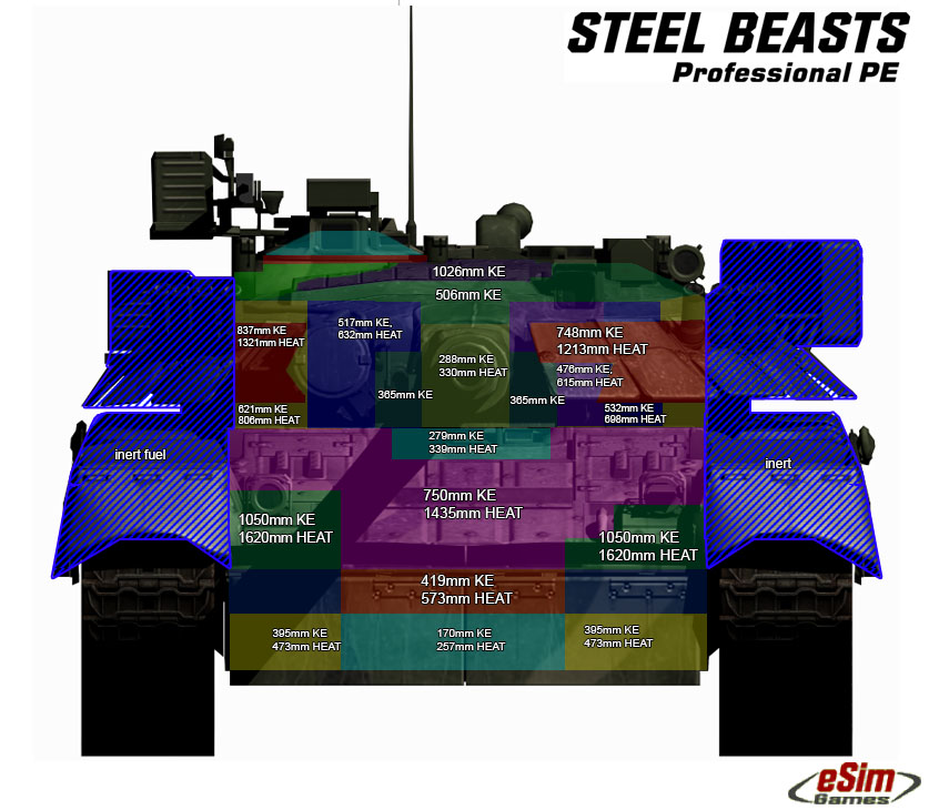 General Main Battle Tank Technology Thread: - Page 12 T80armour