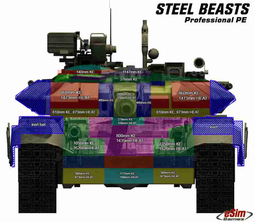 General Main Battle Tank Technology Thread: - Page 12 T90armour