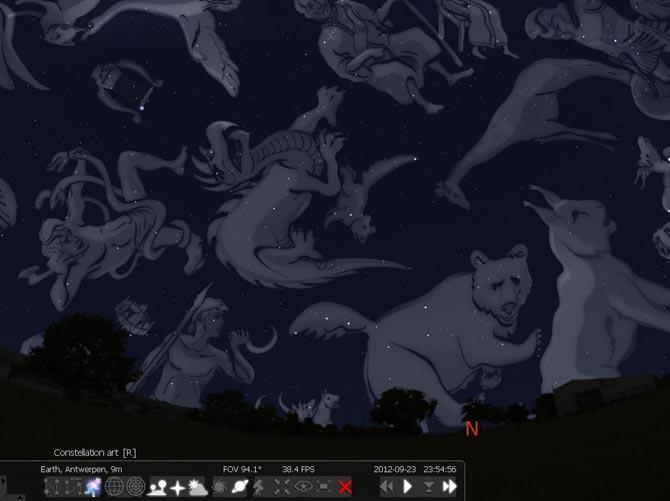 Phần mềm giúp bạn khám phá vũ trụ bí ẩn Stellarium 0.12.4 0.10-constellation-art-on