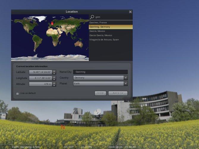 Phần mềm giúp bạn khám phá vũ trụ bí ẩn Stellarium 0.12.4 0.10-location-full