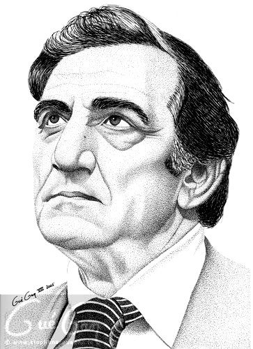 Caricatures et Portraits Lino-ventura