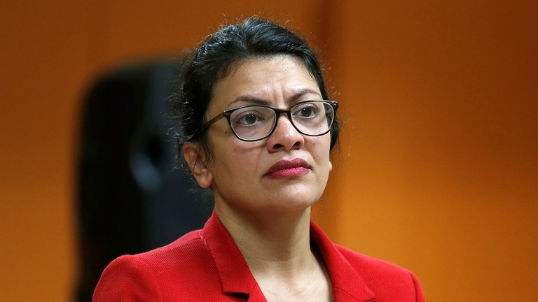 Israel allows US Congressman Rachida Tlaib to visit her family in the West Bank 5d56779a95a597695b8b4567
